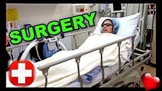 I HAD SURGERY!