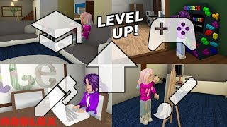 LEVELING UP OUR SKILLS! ⬆️ / Roblox: Welcome to Bloxburg