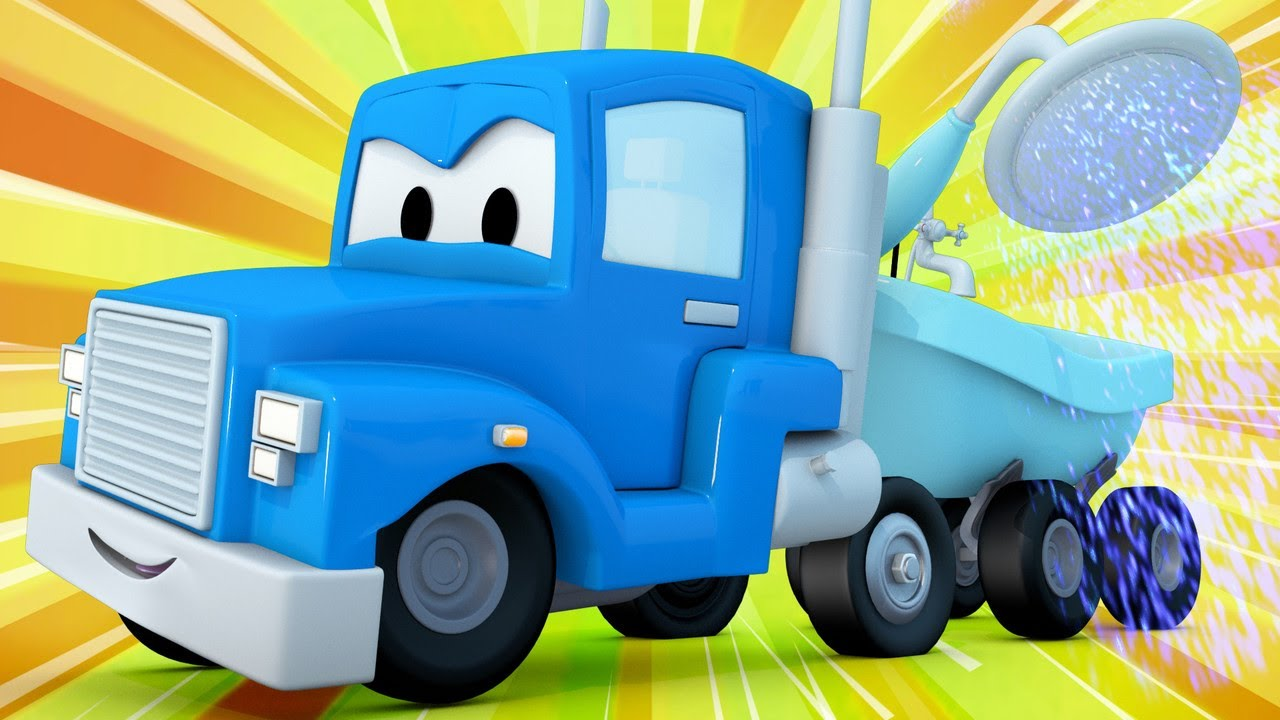 Xe tải làm vườn giúp xe thu hoạch Harvey chiến thắng lễ hội hoa! - những bộ phim hoạt hình về