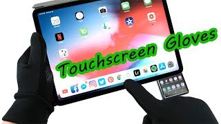 The Best Winter Gloves for Note 9/iPad Pro 2018 (MUJJO) Touchscreen Gloves [4K] 60fps