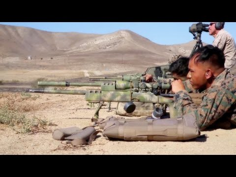 Pre-Scout Sniper Training: U.S. Marines Passing the Torch