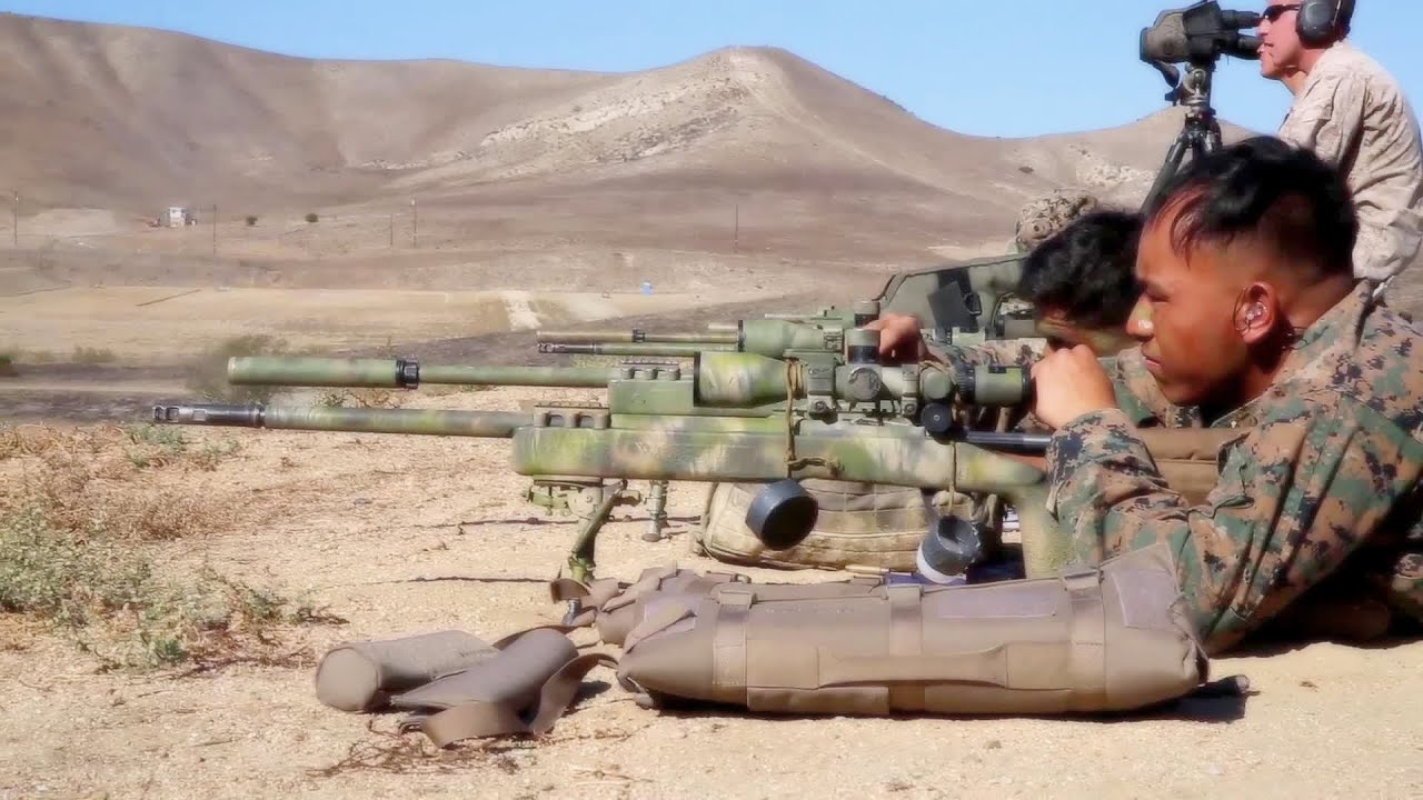 Pre-Scout Sniper Training: U.S. Marines Passing the Torch - YouTube