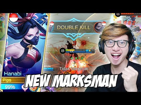 Image of NEW HERO HANABI MARKSMAN TERBAIK JAMAN SEKARANG? - MOBILE LEGENDS INDONESIA