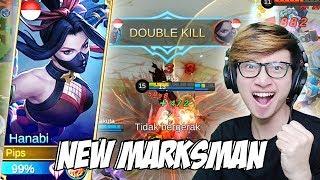 Download Video NEW HERO HANABI MARKSMAN TERBAIK JAMAN SEKARANG? - MOBILE LEGENDS INDONESIA MP3 3GP MP4