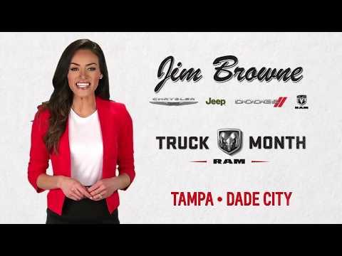 Ram Truck Month at Jim Browne Chrysler Dodge Jeep Ram Tampa