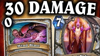 30 Damage for 0 Mana with Miracle Priest! | Evenlock | THE WITCHWOOD | HEARTHSTONE | DISGUISED TOAST