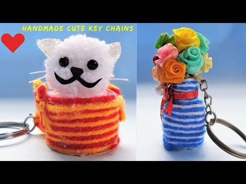 DIY: How to make Key chains at Home | Best out of waste