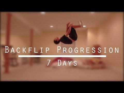 Backflip Progression - 1 Week