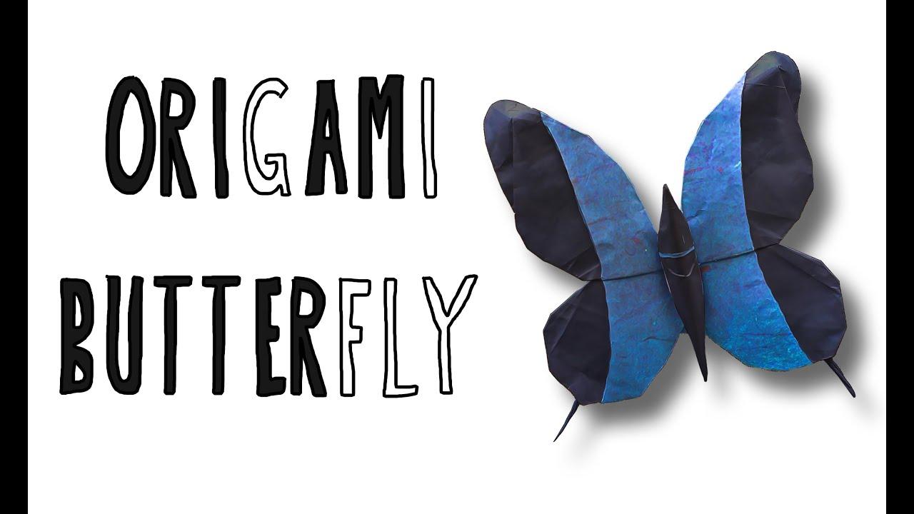 Origami Butterfly (Riccardo Foschi) - YouTube - photo#39