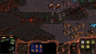 StarCraft: Remastered Co-op Campaign Zerg Mission 8 - Eye for an Eye