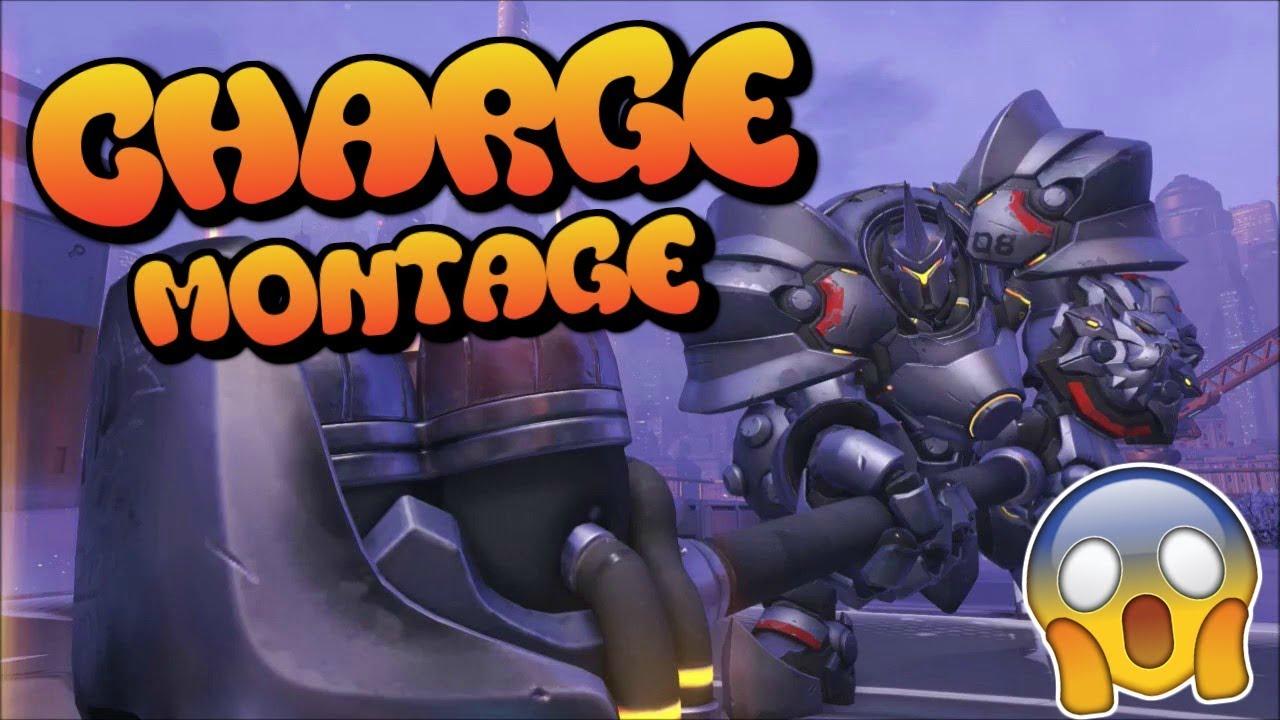 Most Satisfying Reinhardt Charge! OVERWATCH - YouTube