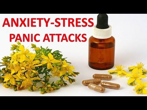 Natural Supplements, Vitamins and Herbs For Anxiety, Panic A
