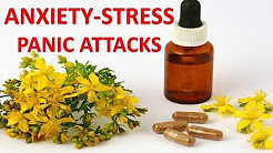 Natural Supplements, Vitamins and Herbs For Anxiety, Panic Attacks and Stress