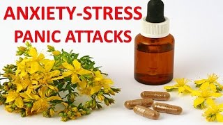 Natural Supplements Vitamins And Herbs Anxiety Panic And Stress