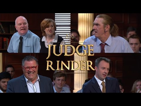 Sticky Vicky, A Tights Fetish, And Agadoo! | Judge Rinder