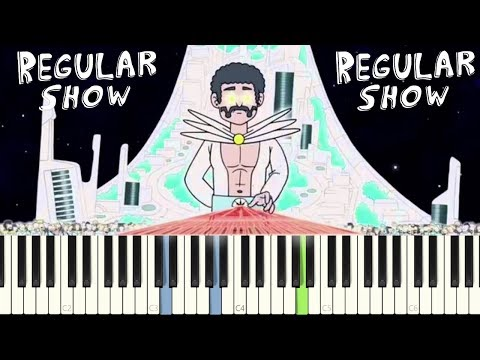 Regular Show - Gary Vs David Synthesizer Duel  || FREE SHEET & MIDI