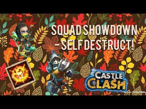 Squad Showdown - Self Destruct! - Castle Clash