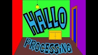 Processing - Работа с Графикой. Начало.