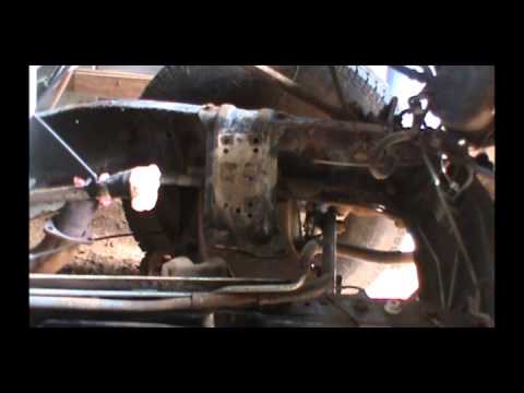 C30 Engine Install Part 2 - Motor Mount Install