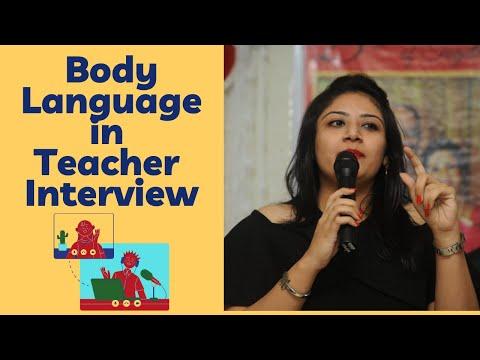 BODY LANGUAGE DURING INTERVIEW | TEACHER INTERVIEW SERIES | TEACHERPRENEUR