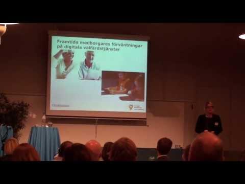 En digital agendas möjligheter och utmaningar - Åsa Zetterberg, Sveriges kommuner och landsting