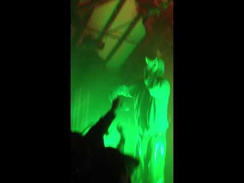 Der Sänger von Björk - Marsimoto (17.03.2012 @ Dachstock Bern)