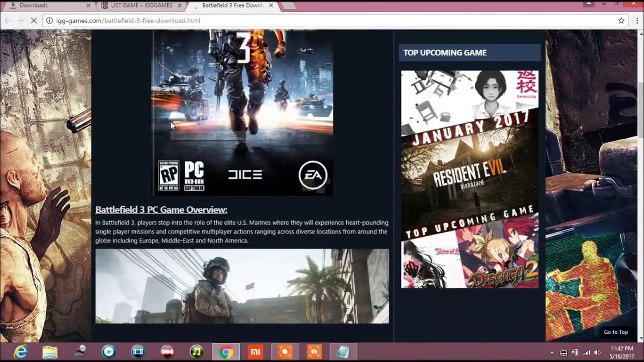 How To Download Big Pc Games In Small Size Iso Youtube