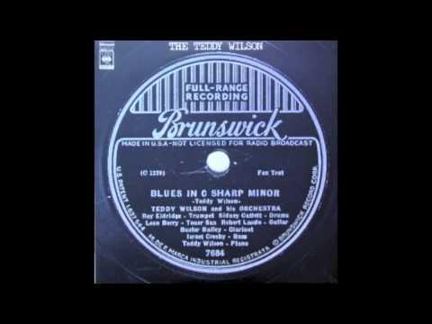 Teddy Wilson - Blues In C Sharp Minor