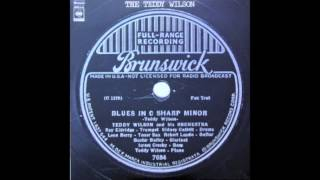Teddy Wilson - Blues In C Sharp Minor