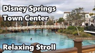 Disney Springs - Town Center | Relaxing Stroll | Walt Disney World thumbnail