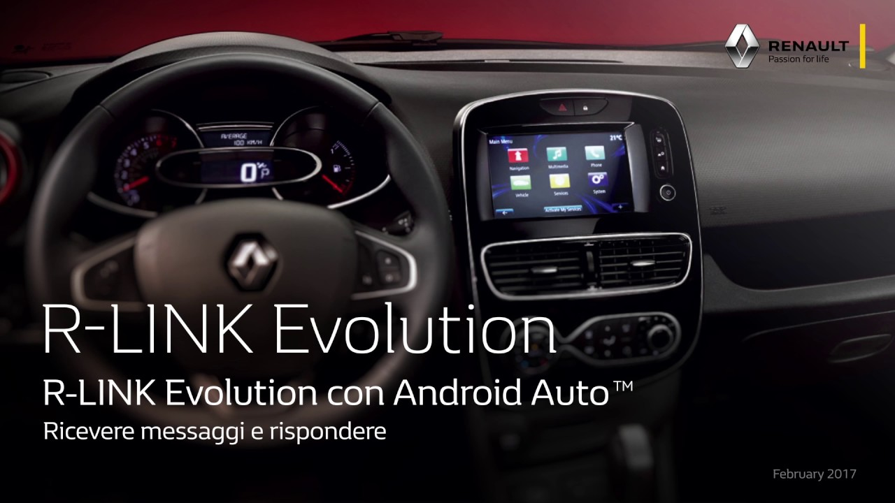 r link evolution con android auto ita youtube. Black Bedroom Furniture Sets. Home Design Ideas