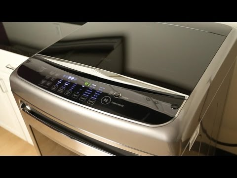 New LG dryer has seductive looks and impressive speed