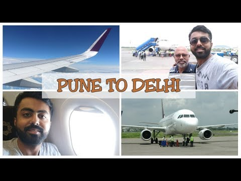 PUNE TO DELHI | COMMERCIAL PILOT MEDICAL | VLOG - 6 | AIR VISTARA