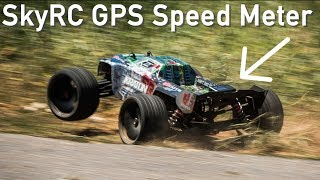 Testing SkyRC GPS Speed Run Meter & Data Logger