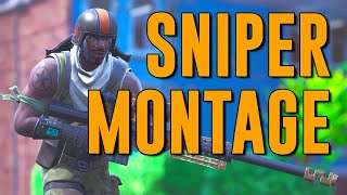 Fortnite Montage #9 | Sniper Montage with the Rarest Skin in the Game