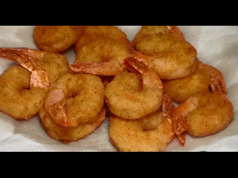 Easy Crispy Fried Shrimp Recipe How To Make Crispy Fried Shrimp