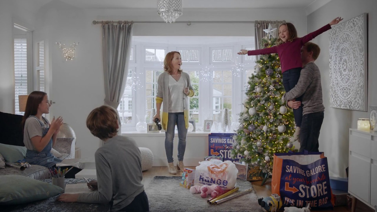the range christmas tv ad 2017 decorations