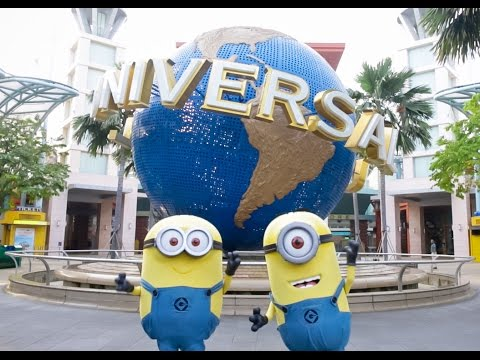 The Minions Take Over Universal Studios Singapore