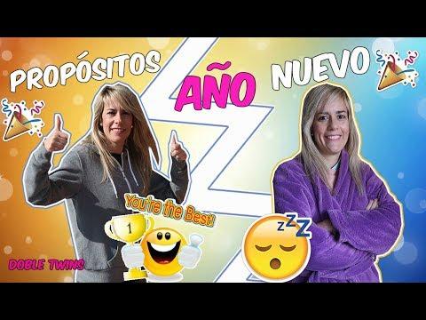 NUESTROS PROPÓSITOS DE AÑO NUEVO ¡EXPECTATIVA vs REALIDAD! | Doble Twins