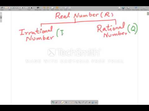 Real, Rational and Irrational Numbers Explained in Urdu