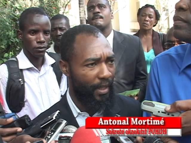 Affaire Dorsinvil: Antonal Mortimé dénonce le silence du commissaire Me Kherson Darius Charles