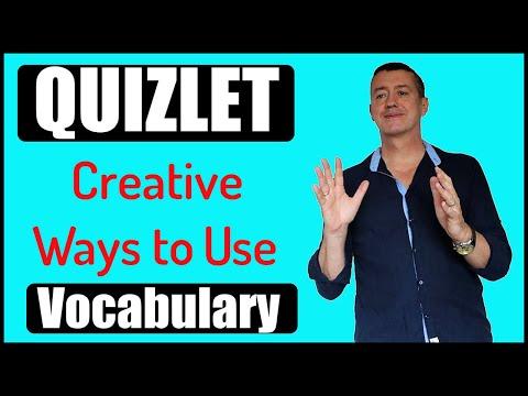 Creative Ways Of Using QUIZLET 2019-Language Learning