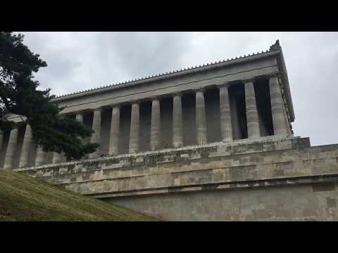 Walhalla memorial from Germany - 1 RAW minute