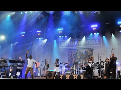 Rudimental - Not Giving In at Glastonbury 2014