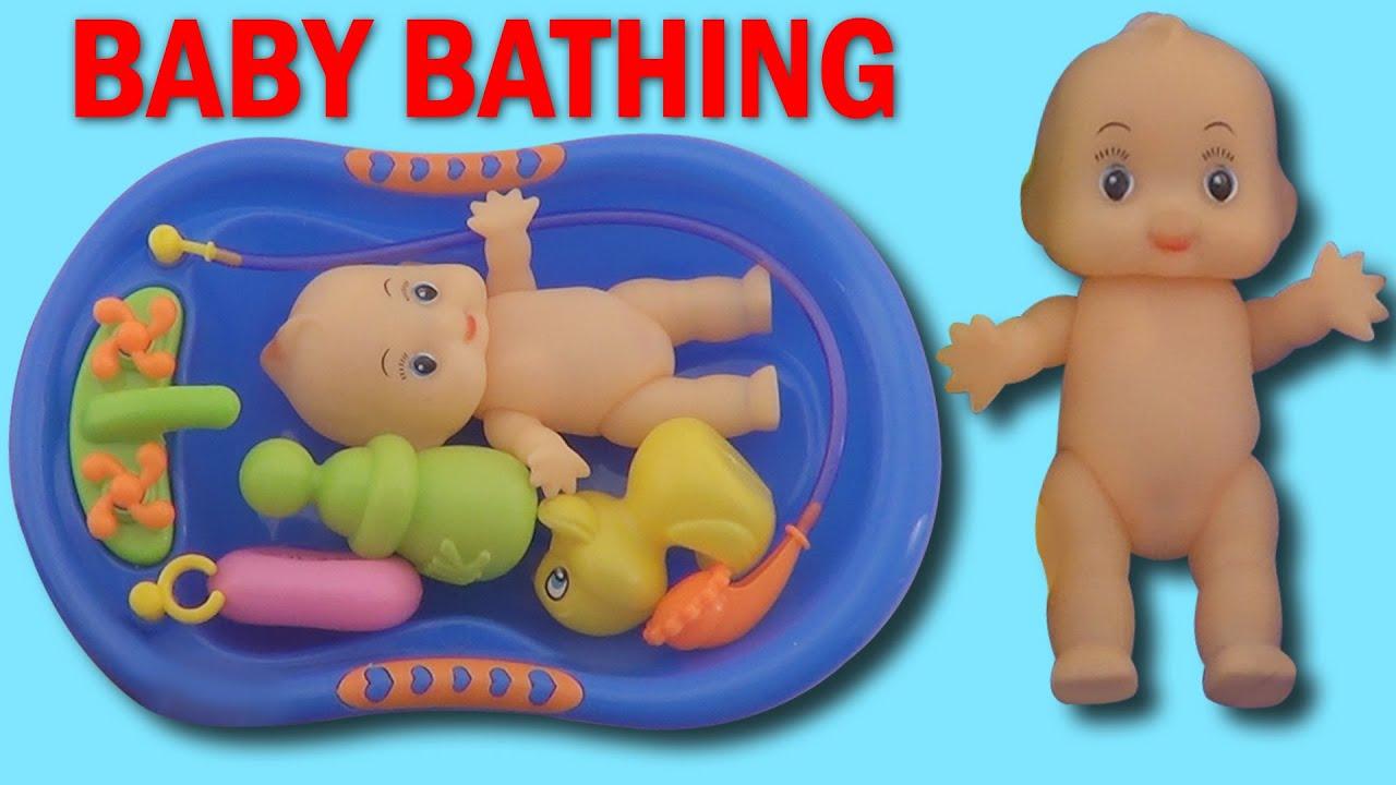 Baby Doll Bathtime Nenuco Baby Girl How to Bath a Baby Toy Videos ...