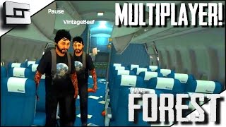 The Forest Multiplayer - MULTIPEEPS! E1 ( Gameplay )