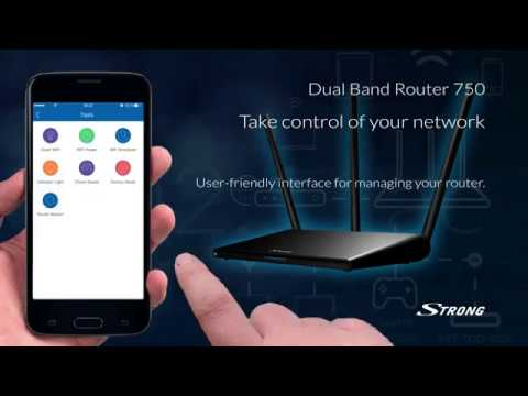 Double band 750 router