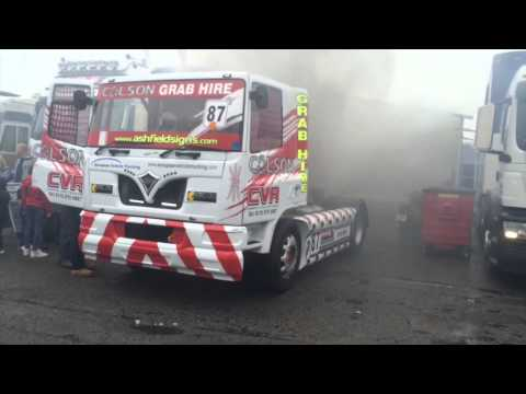 Colson Transport Racing Truck Startup