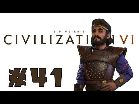 Let's Play: Civilization VI - Surprising Persia! - Deity - Part 41