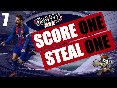 Football Manager 2018 | Score One Steal One | #7 Pink Hat